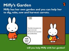 Miffy's Garden for the iPad