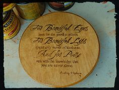 """Audrey Hepburn quote on 6 3/4"""" round plaque by BeautifulPursuits on Etsy"""