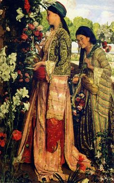 John Frederick Lewis (London 14 July 1804 – 15 August 1876) was an Orientalist English painter. He specialized in Oriental and Mediterranean scenes and often worked in exquisitely detailed watercolour. He was the son of Frederick Christian Lewis (1779–1856), engraver and landscape-painter