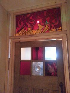 Brand new panel for The Cauldron Restaurant, Bristol. Flames continue the theme of the restaurant and look alive!