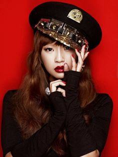 Sistar's Hyorin's Alone album jacket photo