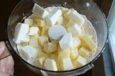 Pie Crust Preparation (food processor method)