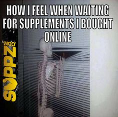 Good thing Suppz.com orders usually arrive the next day for Midwest orders (and shipping is free for USA orders over $49)