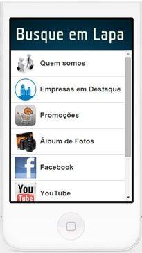 Baixe o aplicativo do Busque em Lapa no seu celular. Acesse: app.vc/busque_em_lapa