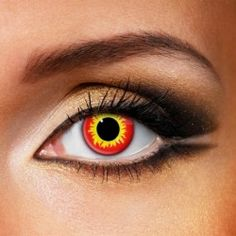 Wild Fire Coloured Contact Lenses (Daily)