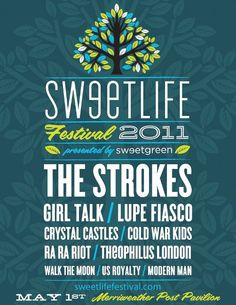 Sweetlife Festival poster - i like it