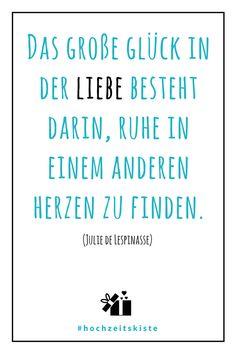 Spruch zur Hochzeit - Finde den passenden Hochzeitsdienstleister in nur 2 Min mit der Hochzeitskiste: www.hochzeitskiste.info