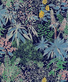 Textile Prints, Textiles, Print Patterns, Sailor, Flora, Fiber, Tropical, Illustrations, Clothes For Women