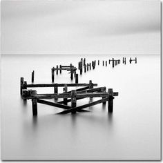 Trademark Fine Art All That Remains Canvas Art by Rob Cherry, Size: 18 x Gray Inch Beach, Inspiration Artistique, All That Remains, Fishing Photography, Beach Photography, Long Exposure, Kiosk, Photography Tutorials, Photography Ideas