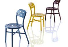 cadeira PIPE - MAGIS    DESIGNER JASPER MORRISON