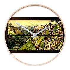 Tiffany Studios Wooden Wall Clock