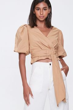 Forever 21 Top Affordable Tops reasonablyrebecca Hot Dress, Affordable Clothes, Playsuits, Jumpsuits For Women, Forever 21, Shop Forever, Poplin, Latest Trends, Fitness Models