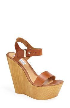 Steve Madden 'Boozey' Wedge Sandal (Women) available at #Nordstrom