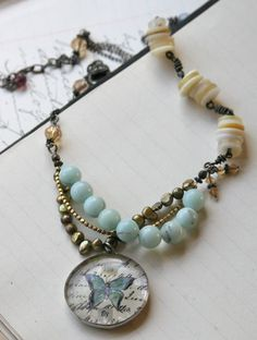 Gorgeous necklace by Lisa Kaus