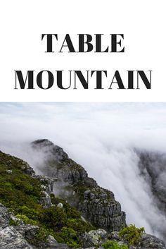 Das Wahrzeichen von Kapstadt in Südafrika: der Table Mountain