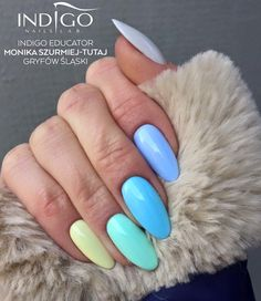 Miami Gel Polish New Collection: Chiquita Banana See You Later, Alligator Florida DreamsCall Me a Unicorn Coconut Milk by Indigo Educator Monika Szurmiej-Tutaj