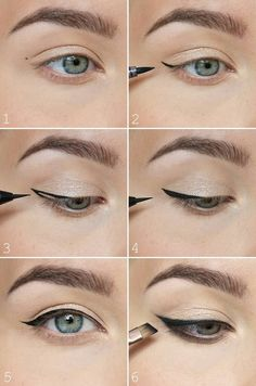 How to perfect winged eyeliner? Easy tips for winged eyeliner look! The most easiest way to do winged eyeliner. Source by Artekate The post How to perfect winged eyeliner? Easy tips for winged eyeliner look! appeared first on Best Of Likes Share. Winged Eyeliner Tricks, Perfect Winged Eyeliner, Eyeliner For Beginners, Eyeliner Looks, How To Apply Eyeliner, Makeup Tips For Beginners, Winged Liner, Eyeliner Liquid, Liquid Liner