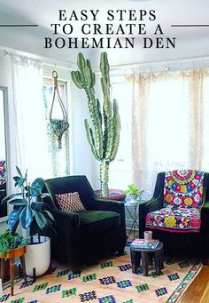 Easy Steps To Create a Bohemian Den!