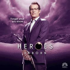 Heroes Reborn motion posters introduce new characters