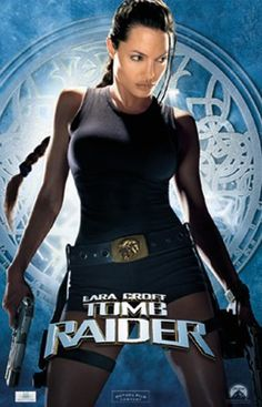 Angelina Jolie portrayed Lara Croft in the two Tomb Raider movies. Movies Lara Croft: Tomb Raider, Lara Croft Tomb Raider: The Cradle of Life Tomb Raider Angelina Jolie, Lara Croft Angelina Jolie, Angelina Joile, Tomb Raider 2001, Lara Croft: Tomb Raider, Tomb Raider Movie, Tomb Raider Costume, Tomb Raider Game, Laura Croft