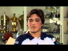 Pedro e Nelson Piquet Jornal Nacional Accident Porsche Cup