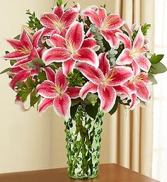 Stargazer Lilies - one of my favorite flowers.  The first year we had them they were beautiful - the second not quite as pretty!!!! 800 Flowers, Romantic Flowers, Beautiful Flowers, Wedding Flowers, Prettiest Flowers, Lilies Flowers, Nice Flower, Fresh Flowers, Wedding Bouquet