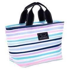 Shopping Bag Surf Board Design Zipped Lined Damp Proof Tote BNWT Surfs Up
