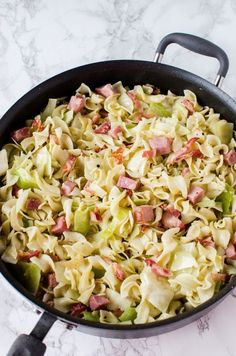 Fried Cabbage, Ham & Noodles (Haluski) – My Incredible Recipes