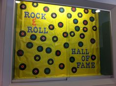 """Instead of """"rock & roll hall of fame"""" it would say """"4th grade hall of fame"""""""
