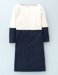 Colourblock Tunic Dress WH972 Clothing at Boden
