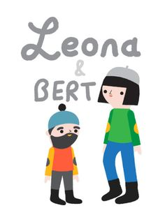 I have been working on a side project: The Adventures of Leona & Bert. See what they're up to on their Instagram account @leonaandbert