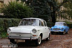 škoda 1000MB 1966 origo < MB < auta < skoda-virt.cz/ Car Posters, Car Makes, Cars And Motorcycles, Classic Cars, History, Vehicles, Vintage Cars, Prague, Cars
