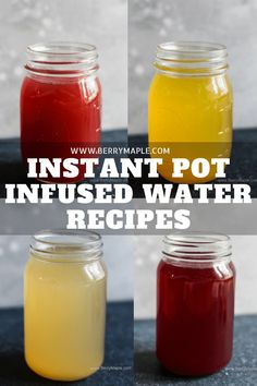 Instant Pot detox infused water ideas! Naturally sweet and healthy ideas for your magic pressure cooker. Who doesn't like some ice cold fruity drink on a hot day? How about it is naturally sweetened and …