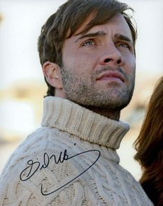 Gil McKinney Photo Signed In Person - Once Upon A Time - D1016 Once Upon A Time, Signs, Shop Signs, Ouat, Sign
