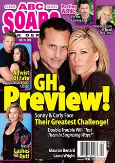 In This Issue of ABC Soaps In Depth