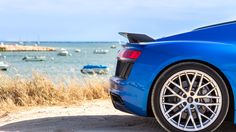 You gotta love that ass! Audi R8 V10 plus
