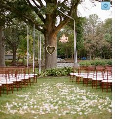 30 unique altar alternatives for outdoor weddings pinterest a simple ceremony under a tree love the heart shaped wreath detail photo by abby jiu photography i like this but it would be my luck there would be a junglespirit Image collections