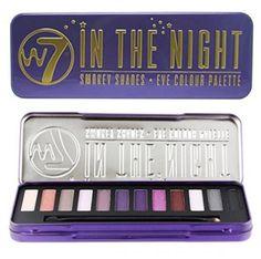 W7 In the Night 12 Eye colour Palette, 1er Pack (1 x 136 g)