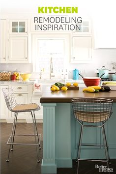 Thinking about a kitchen remodel? Visit this page for some of our favorite ideas to spark your creativity: http://www.bhg.com/kitchen/remodeling/?socsrc=bhgpin111813kitchenremodeling