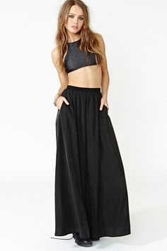 Full Swing Maxi Skirt