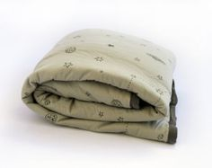 White Baby Comforter Lined Baby Blanket Cotton Jersey