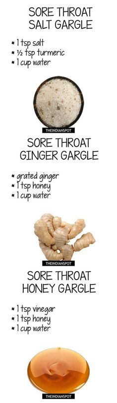 nice Top Five natural gargle recipes and tips for sore throat...