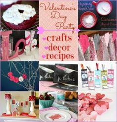 Valentine's Day Blogger Party :: HoosierHomemade.com