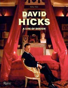 David Hicks book---wonderful interior design book/ fascinating life story of very gifted designer.