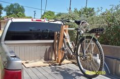 How to build a Truck bed bike rack