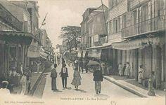 Guadeloupe, Pointe-à-Pitre, Rue de Frebault Pointe A Pitre, Outre Mer, Saint Martin, France, History, Painting, Islands, Europe, Photos