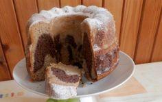 Recept Dvoubarevná bábovka Tiramisu, Kefir, Nutella, French Toast, Pudding, Bread, Breakfast, Pineapple, Morning Coffee