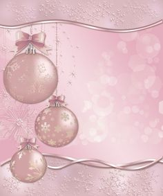 View album on Yandex. Noel Christmas, Christmas Images, Pink Christmas, Christmas And New Year, Vintage Christmas, Christmas Crafts, Christmas Bulbs, Christmas Decorations, Christmas Mantles