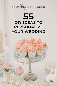 Getting memorable decorations for your big day does not mean you have to break the bank. Craft one-of-a-kind DIY projects that will be the perfect additions to your wedding. Wedding Ideas To Make, Do It Yourself Wedding, Wedding Tips, Summer Wedding, Diy Wedding, Rustic Wedding, Dream Wedding, Homemade Wedding Favors, Wedding Hacks