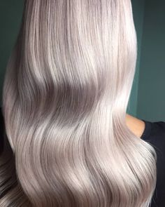 Pearly, pinky tones on blonde for an ethereal look. Created by Wella Passionista Cassandra Foehr.